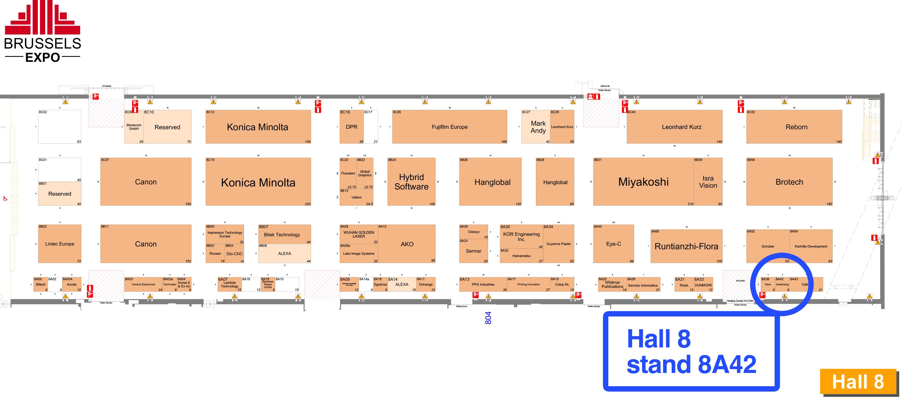 mappa label expo